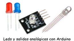 Leds y modulos RGB para Arduino