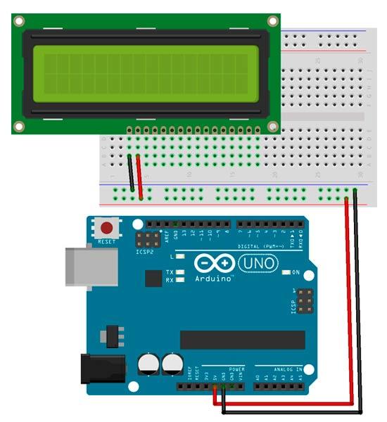 Primer paso para el montaje de Arduino con la pantalla LCD