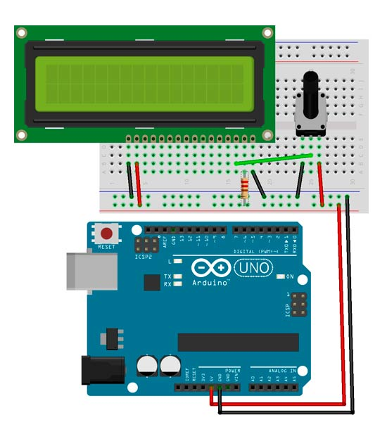 Pantalla LCD con Arduino