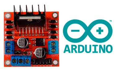 Módulo controlador de motores L298N para Arduino