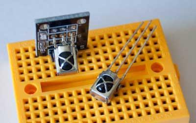 Receptor infrarrojo universal VS1838B y el módulo KY-022