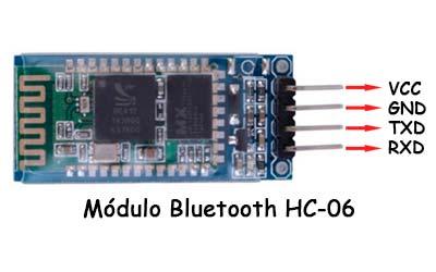Modulo bluetooth HC-06 para Arduino