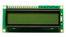 Pantalla LCD de 16x2 líneas conectada a Arduino