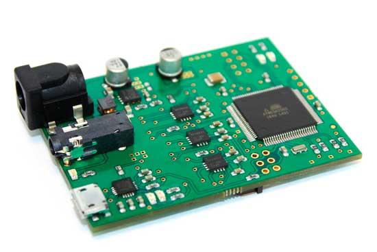 Placa Almond PCB, compatible con Arduino Uno.