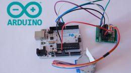 Conexión del motor paso a paso 28BYJ-48 y el módulo ULN2003 con Arduino