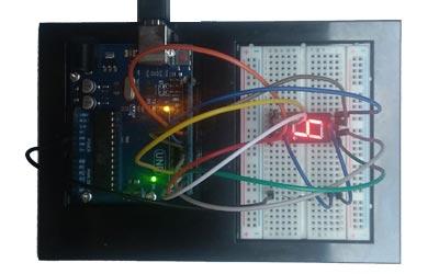 Conexión de display de 7 segmentos al Arduino