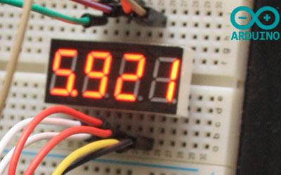 Funcionamiento del display de 4 dígitos y 7 segmentos con Arduino