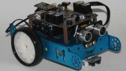 Robot esquiva obstáculos con mbot