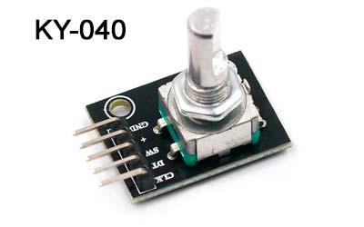Encoder rotativo KY-040