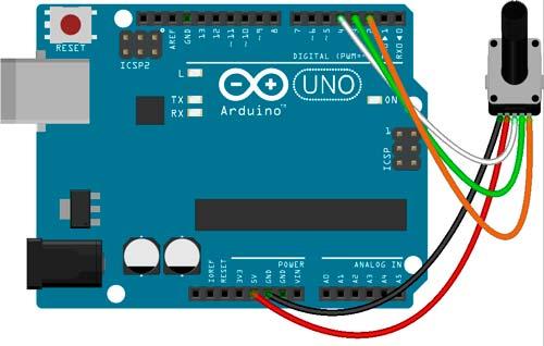 Esquema de conexión con Arduino