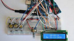 Montar un reloj con Arduino, el módulo RTC DS3231 y mostrarlo en una pantalla LCD