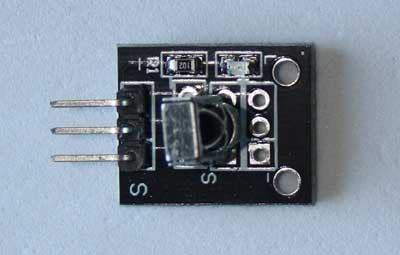 KY-022. Módulo sensor receptor infrarrojo