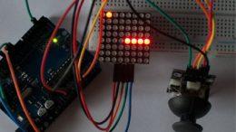 Juego de la serpiente con Arduino usando una matrix LEDs de 8x8