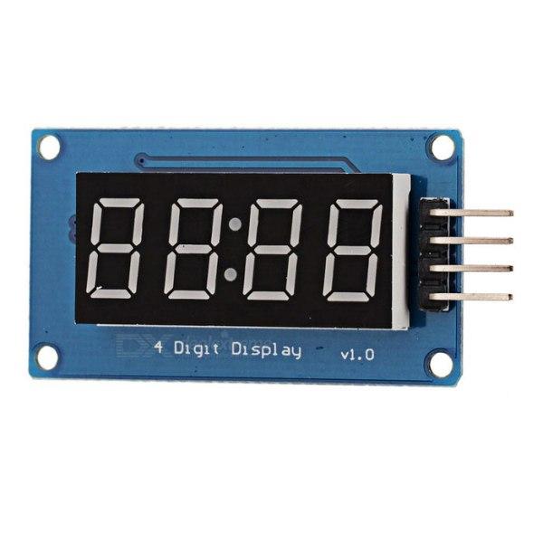 TM1637: módulo display digital de 4 dígitos