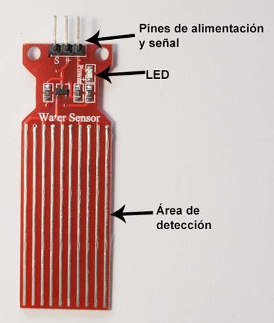 Sensor de agua para Arduino